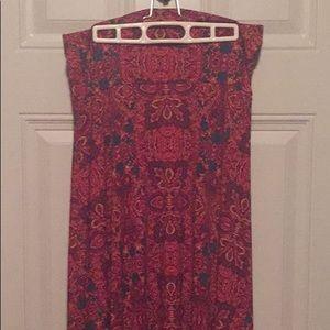 LuLaRoe Maxi Skirt - Size Medium
